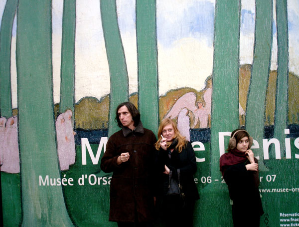 Au Musée d'Orsay...