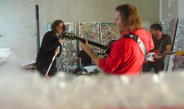Répétition dans l'atelier de Jofo