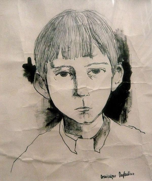 dessin de Dominique Duplantier mon cher cousin talentueux.