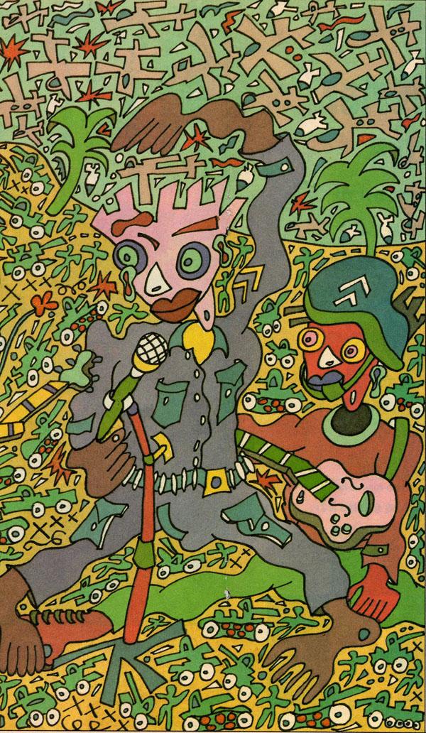 Illustration magazine BLAH BLAH