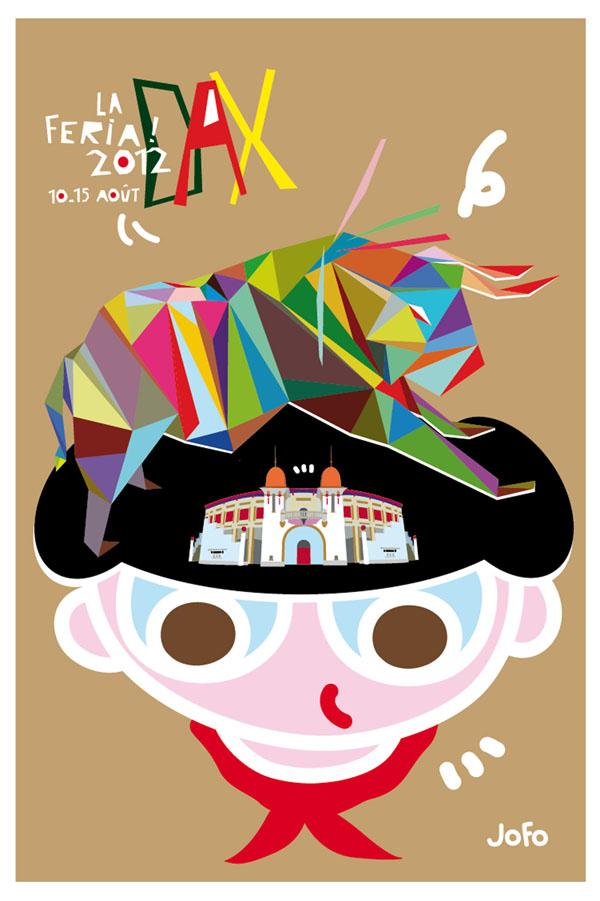 Lauréat du concours du visuel officiel de la Féria de Dax. 2012.