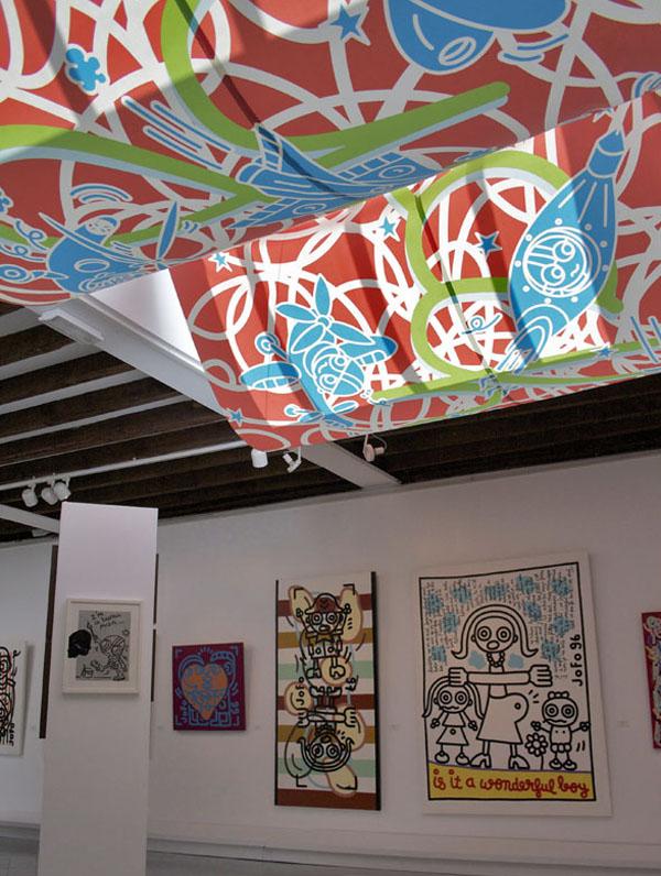 Velum. Impression numérique. Commande du Musée Borda de Dax. Été 2010.