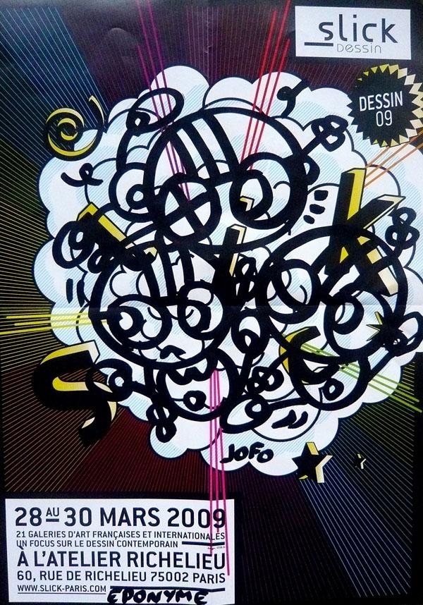 Détournement de l'affiche SLICK Paris