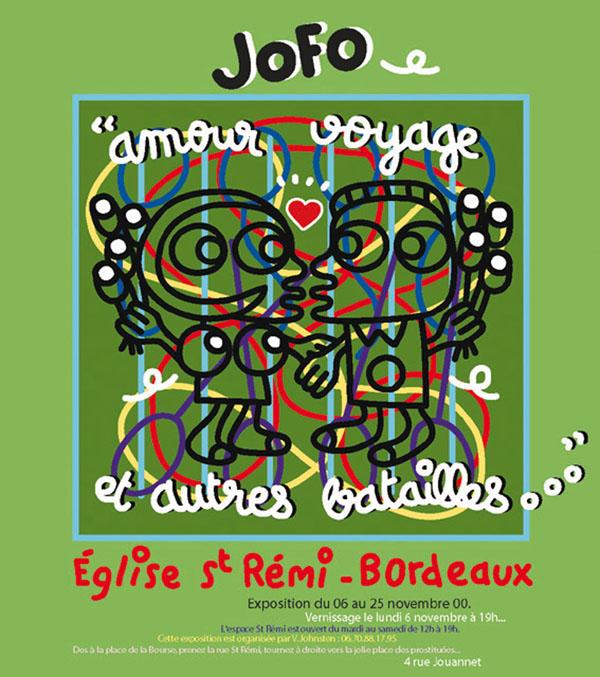 Affiche d'exposition Jofo