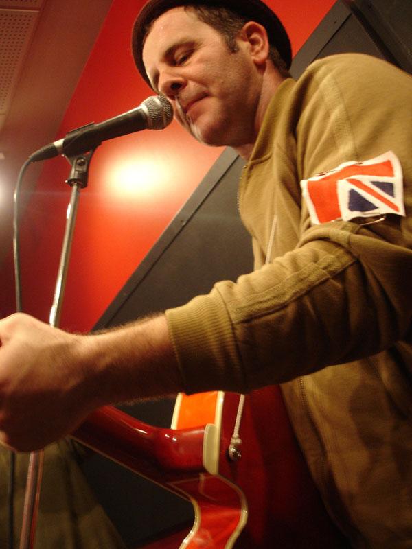 charles en répétition des Cons en 2005
