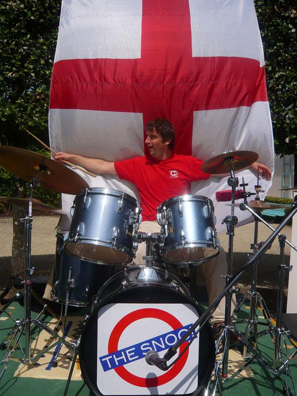 Antoine, batteur d'un jour à Coutras