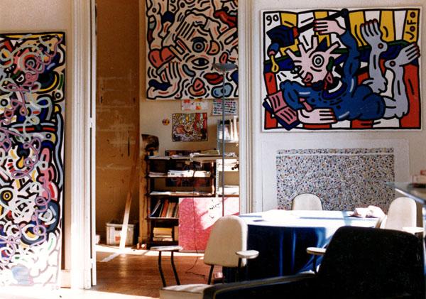 Vue de l'atelier crs Victor Hugo, Bordeaux