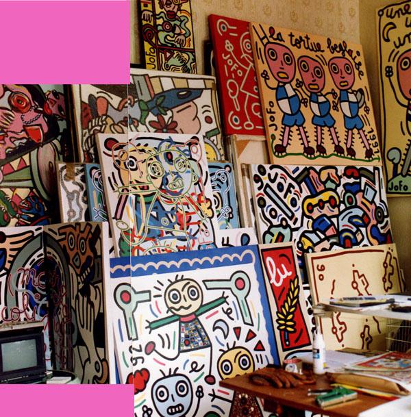 Vue de l'atelier, rue de Marseille, Bordeaux