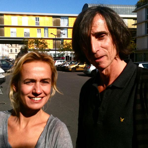Avec Sandrine Bonnaire... Yeah !