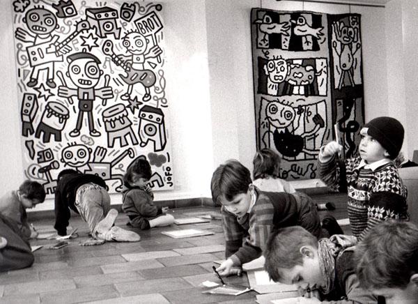 Vue de l'exposition au Musée Marzelles, Marmande.