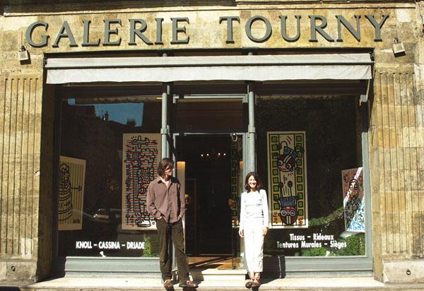 Vue de l'exposition à la Galerie Tourny, Bordeaux.