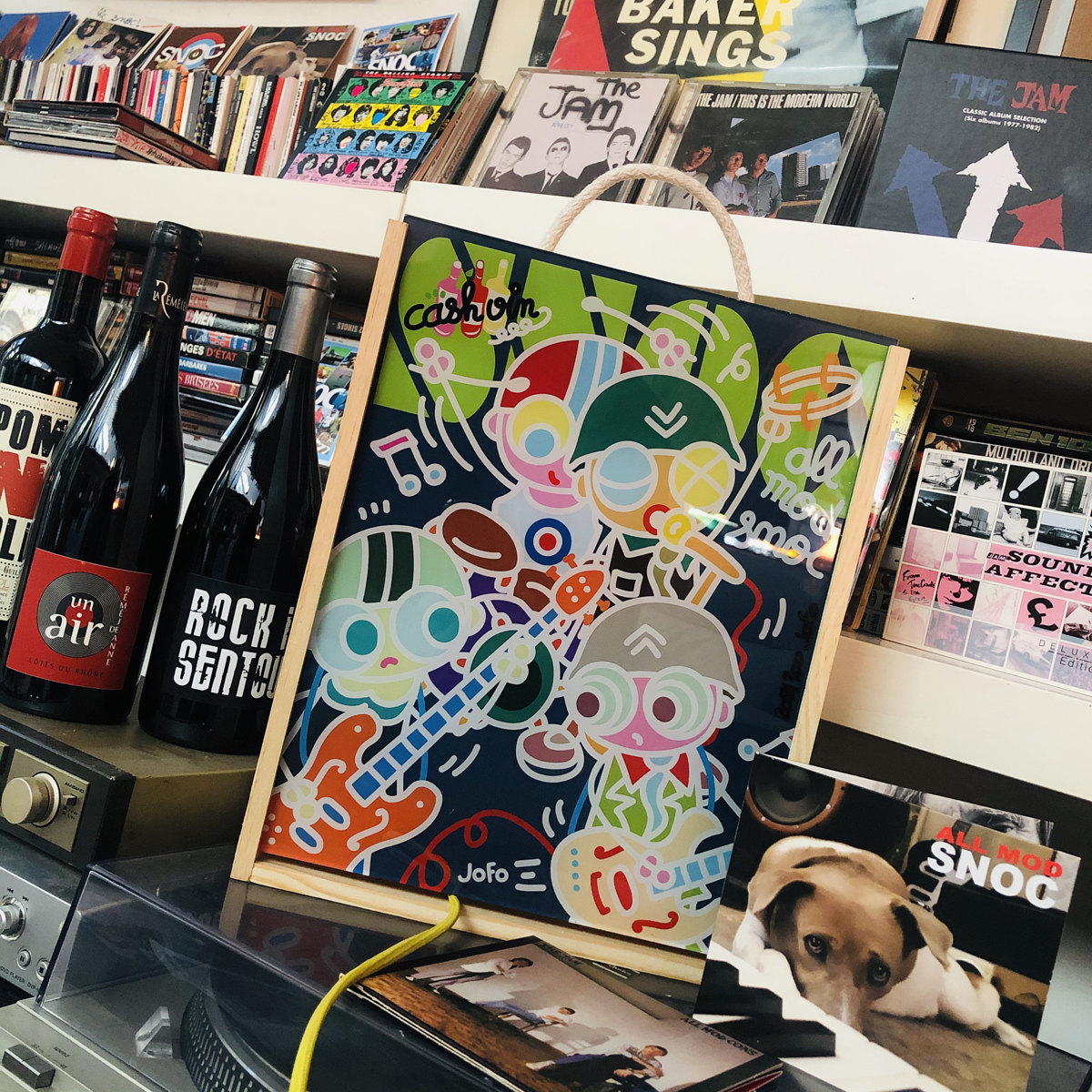 COFFRET JOFO édité par CASHVIN. Inclus le new CD des SNOC