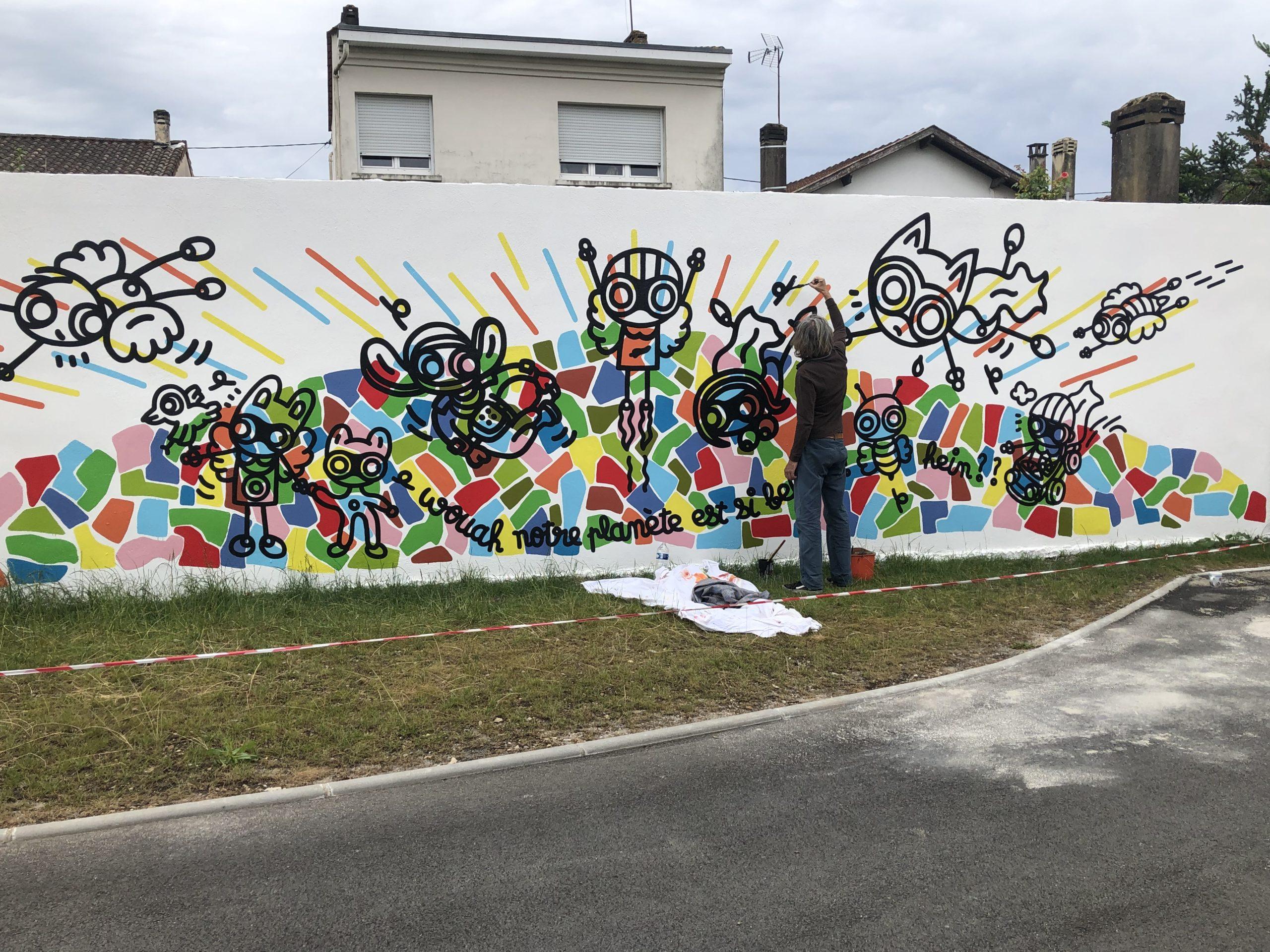 École maternelle Gambetta - Cenon - 11m x 3m